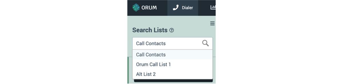 Select Your Calldown List